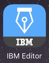 IBM Connections Editor App Icon
