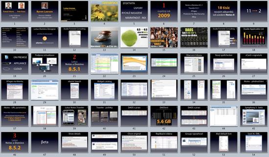 Symposium 2011 - náhled na slajdy z roku 2010