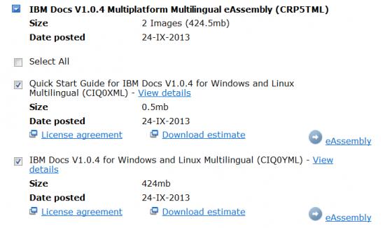 IBM Docs 104 download
